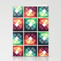 Monday Abstract Pattern Stationery Cards
