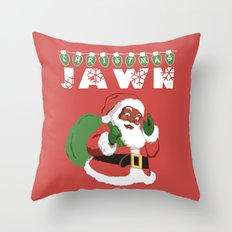 Christmas Jawn Throw Pillow