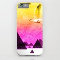 seagulls in shiny sky iPhone 6 Slim Case
