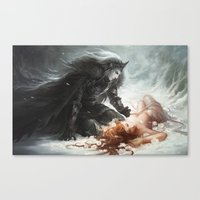 Hades and Persephone Canvas Print