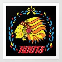 Americas Natives  Art Print
