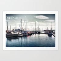 Toronto Lakeshore Art Print