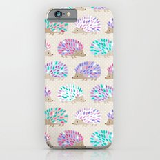 Hedgehog polkadot iPhone 6 Slim Case