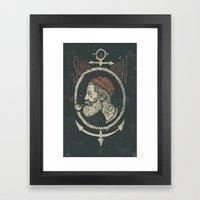 South Ocean Framed Art Print