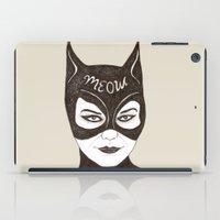 cat woman iPad Case