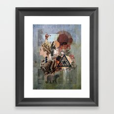 What Went Before Part 1 Framed Art Print