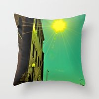Working Title Throw Pillow