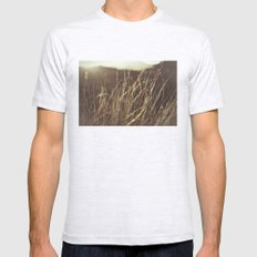 Gold In Nature Mens Fitted Tee Ash Grey SMALL