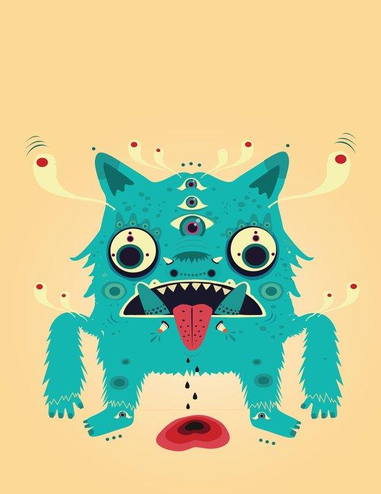 Creature n0#33 Art Print