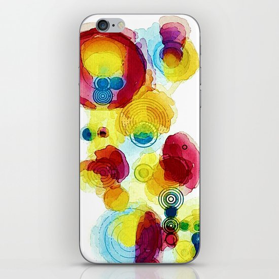 Watercolor study iPhone & iPod Skin
