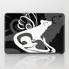 Winged Ferret (White) iPad Case