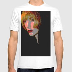 Sassoon Crop SMALL White Mens Fitted Tee