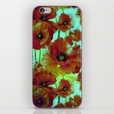 marsala floral iPhone & iPod Skin