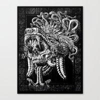 Serpent Warrior Canvas Print