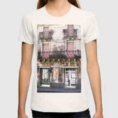SICILIAN FACADE - Italy Womens Fitted Tee Natural SMALL