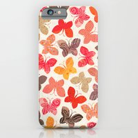 iPhone Cases featuring BUTTERFLY SEASON by Daisy Beatrice