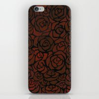 Cluster of Roses iPhone & iPod Skin