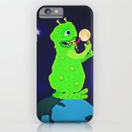 Munching On The Moon iPhone 6 Slim Case