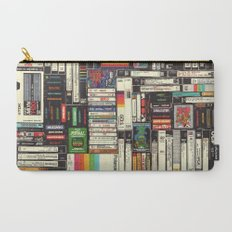 Cassettes, VHS & Atari Carry-All Pouch