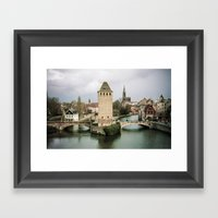 Faded Memories: Ponts Co… Framed Art Print