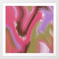Colour Trend Art Print