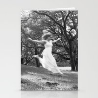 She Fell From the Sky Stationery Cards
