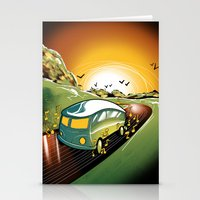 Killer Road Trip  Stationery Cards