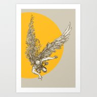 Art Print featuring Icarus by Isaboa