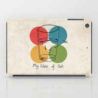 This is my glass of Dali iPad Case