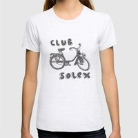 Club Solex Womens Fitted Tee Ash Grey SMALL
