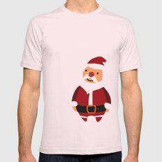 Merry Christmas! Mens Fitted Tee Light Pink SMALL