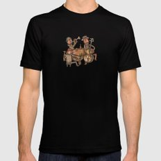The Small Big Band Black SMALL Mens Fitted Tee
