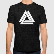 Delta Infinity Mens Fitted Tee Tri-Black SMALL