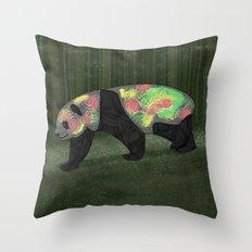 Panda Night Throw Pillow