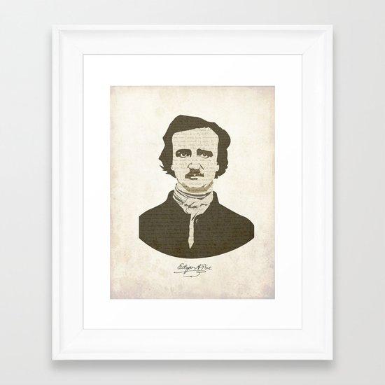 Edgar A. Poe Framed Art Print