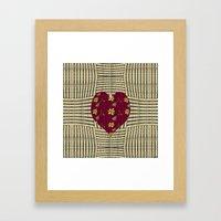 Country Love Framed Art Print