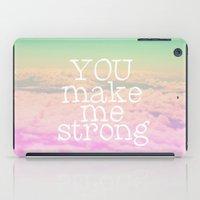 YOU MAKE ME STRONG iPad Case