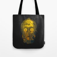 C3PO Splash Tote Bag