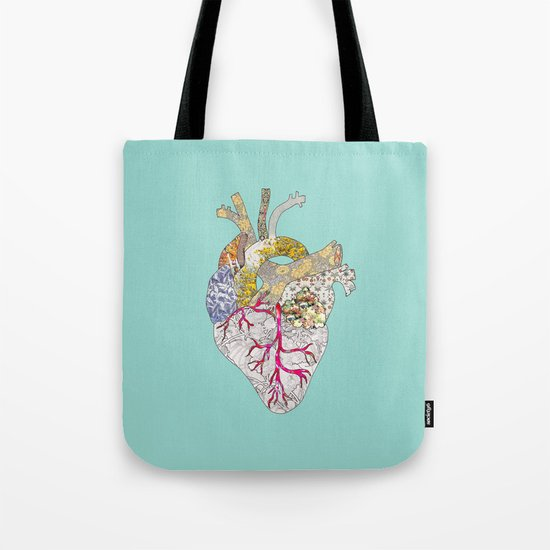 my heart is real Tote Bag