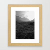 Scottish Highlands - Glencoe Framed Art Print