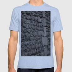 Stone V Mens Fitted Tee Athletic Blue SMALL