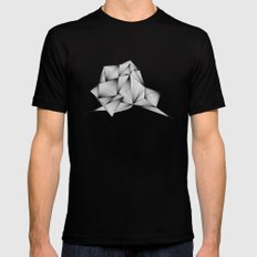 Structure (XYZ) Black SMALL Mens Fitted Tee