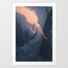Yvaine Art Print