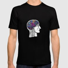 Creative mind Mens Fitted Tee SMALL Black