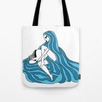 Aquarius / 12 Signs Of T… Tote Bag
