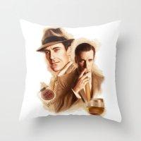 MAD MEN DON DRAPER Throw Pillow