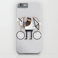 iPhone & iPod Case featuring Back to Fixie Business by Torso Vertical, Illustration and Design