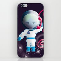 Llamando A La Tierra iPhone & iPod Skin