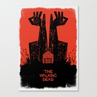 The Walking Dead. Canvas Print