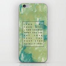 Awake My Soul II iPhone & iPod Skin